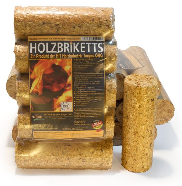 "Runde Holzbriketts WEICHHOLZ ""HIT"""