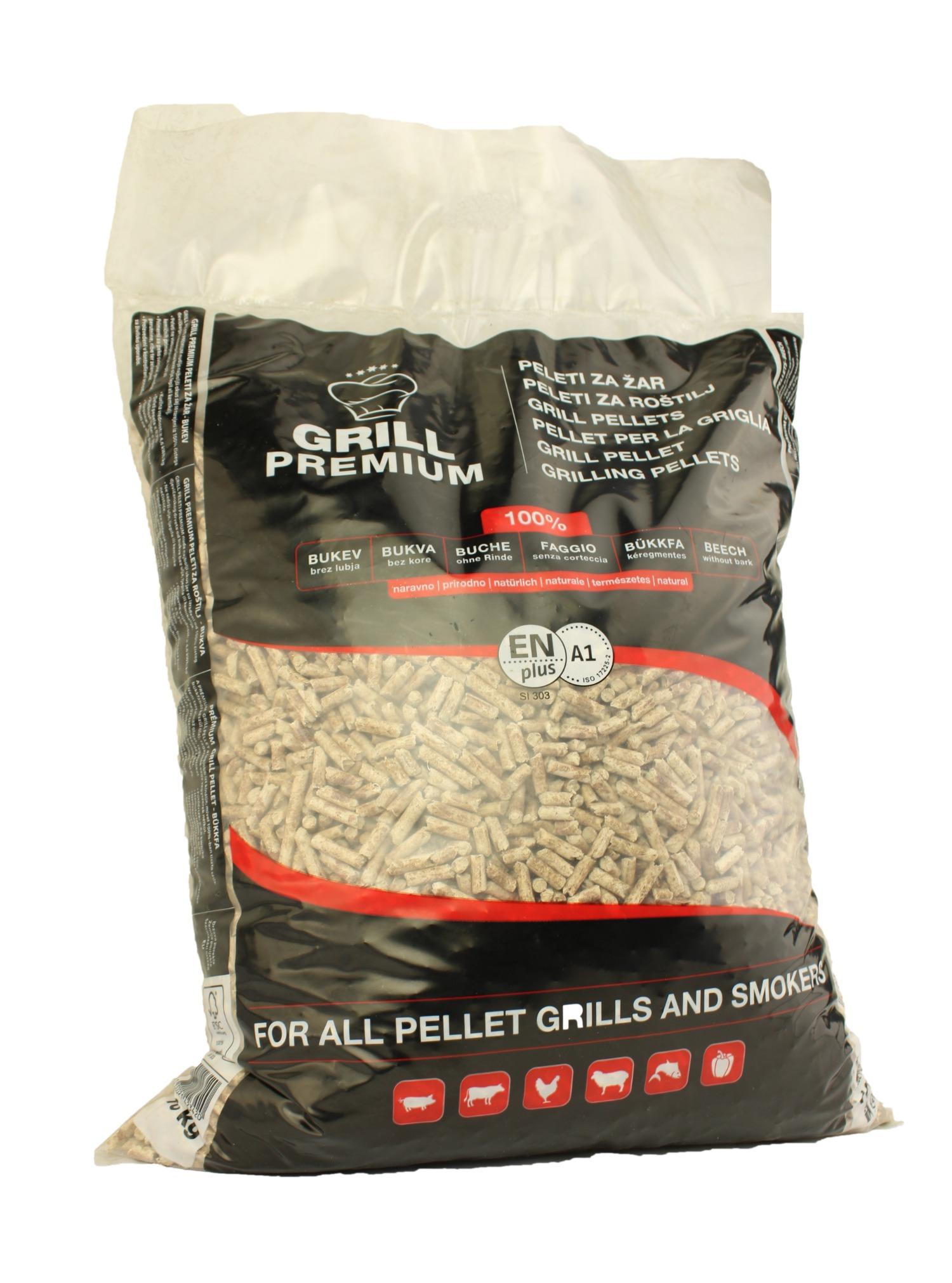 10kg Premium Grillpellets - 100% Buche