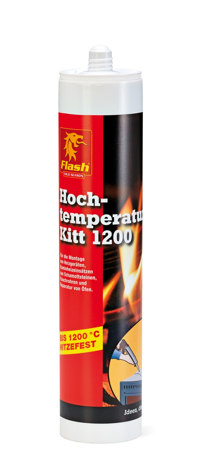 FLASH Kamin-Hochtemperatur Kitt 310ml